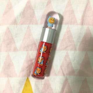 the face shop x kakao friends blossom lip tint
