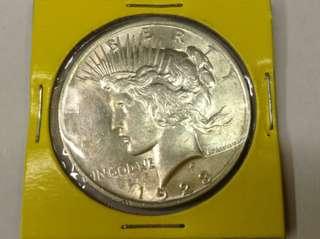 USA silver coin 02