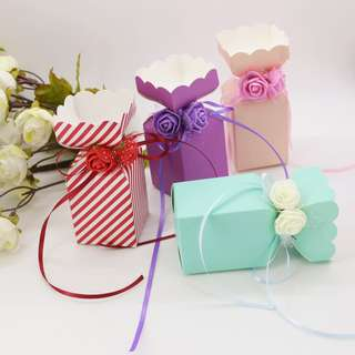 🚚 Paper Box for gift party birthday wedding