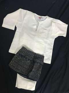 Baju Melayu Budak + Sampin