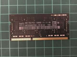 Apple RAM DDR3 1600 2G SO-DIMM for Mac / notebook