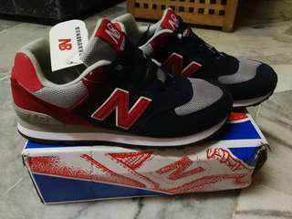 Kasut New Balance Red Black 9b7b25d6a5