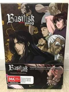 Madman Anime Classic Basilisk DVDS Complete Set