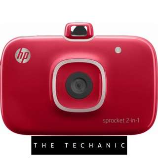 HP Sprocket 2-in-1 Printer [Red]