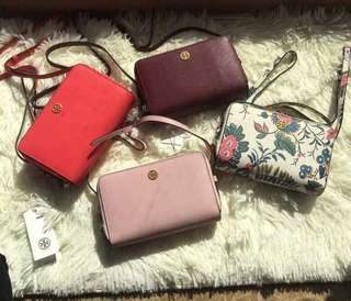 SALE ♥️ Tory Burch Robinson Expandabale Conceirge Wallet Bag 4️⃣ colours
