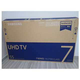 Box for Sale - Samsung 55 inch TV cardboard box - UA55NU7100KXXS