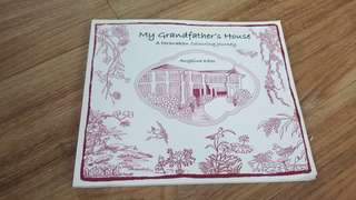 Peranakan colouring book