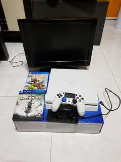 EXPAND ME \O/(PS4 SLIM WITH MANY GAMES)