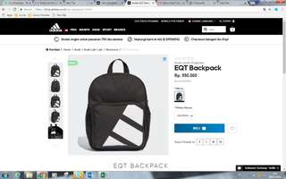 Adidas bag for kids