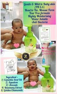 🚚 Authentic Wowo Baby Shampoo + Bath