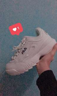 Sepatu fila ori harga baru 1.3 jt