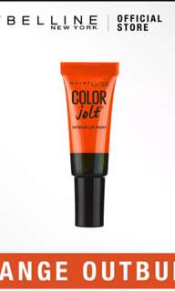 MAYBELLINE LIP STUDIO COLOR JOLT SHINY INTENSE LIP PAINT IN ORANGE OUTBURST