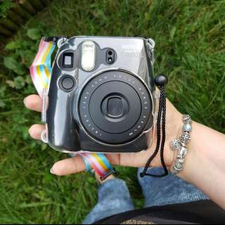 Instax Mini 8 Black 60mm Focus Range Fujifilm