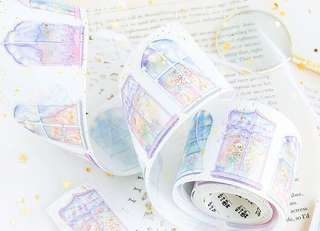 (PO) Pastel Windows Washi Tape