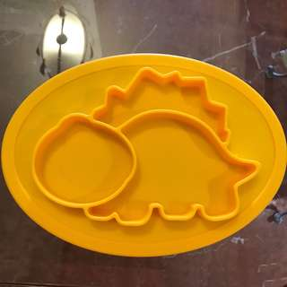 Dino 2 in 1 Silicone Suction Placemat/Plate