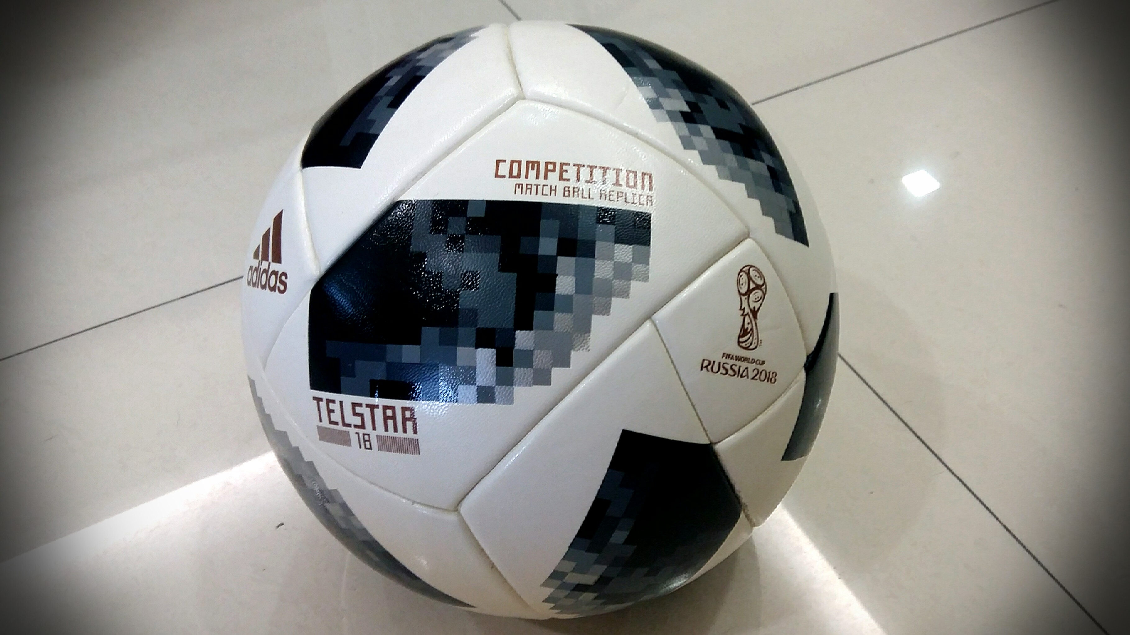 meet 1dc30 9abc4 2018 WORLD CUP MATCH BALL REPLICA -ADIDAS TELSTAR 18, Sports