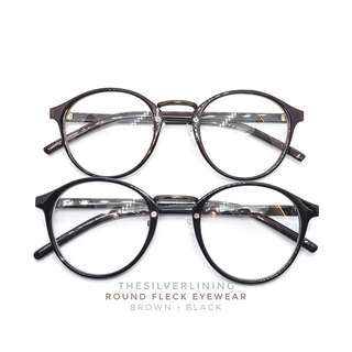 🚚 Round Fleck Eyewear