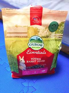 🚚 OXBOW 幼兔配方飼料5lb  ESSENTIALS ADULT RABBIT FOOD 5lb