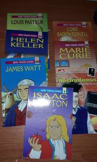 Seri tokoh dunia buku pengetahuan anak kecil