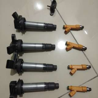 Myvi icon injector + coil plug + map sensor