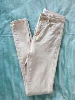 Blush pink Seed jeans size 6