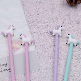 Unicorn Pens (Set of 4) for school gift, goodie bags party favors