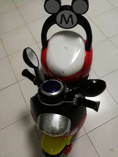 Mickey Mouse Rechargeable Electric Ride On Motorbike