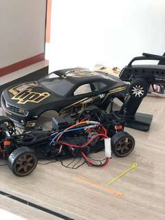 HPI rc drift car 1/10