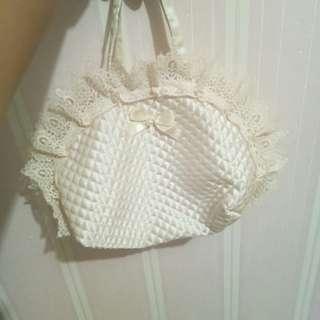 Mukena anak satu set dan tas cantik