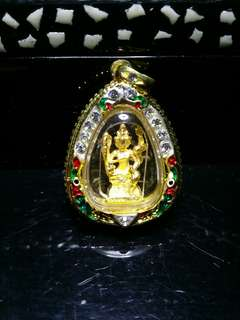 Wat Inn Four Face Buddha Amulet
