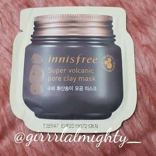 CLEARANCE SALE! INNISFREE SUPER VOLCANIC PORE CLAY MASK