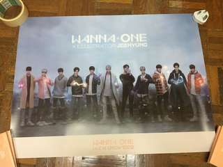 [WTS] Wanna One Undivided Art Book Version Official Poster
