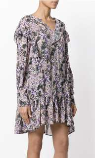 New Isabel Marant silk Onepiece Sz36