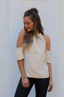CMEO INSPIRED CREAM TOP NEW WITH TAGS