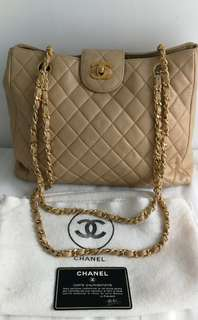 Vintage Chanel Tote