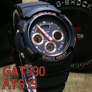 G SHOCK AW590 ( AUTOLIGHT )