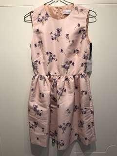 New Red Valentino floral pattern dress sz38