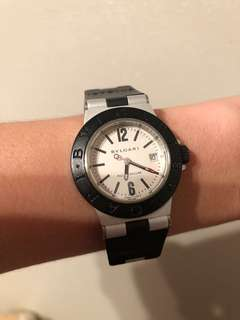 Authentic bvlgari watch
