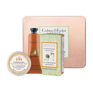 🚚 Crabtree and Evelyn Soothing Gardening Treats Gift Set