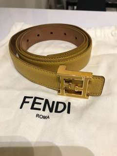 Authentic Fendi Belt