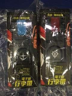 Gundam 電子磅 行李帶(紅/藍)
