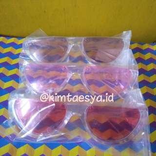 Kacamata eye cat transparan READY
