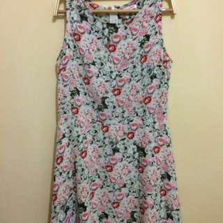 Dress Sleeveless 'Colorbox' Size M