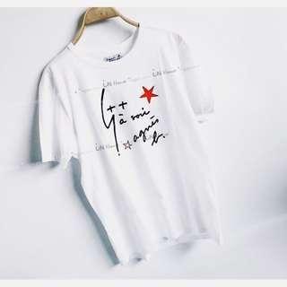 出口過季商品 agnes b. 小b 春夏 男女 情侶 字母圖案 舒適 純棉 短袖 T恤 棉T (特