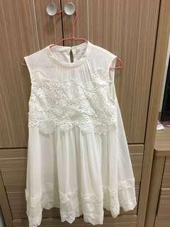 🚚 短 洋裝 雪紡 孕婦可穿。