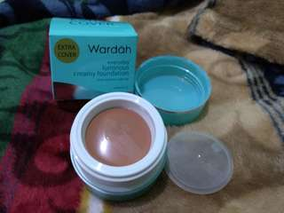 Wardah creamy foundation