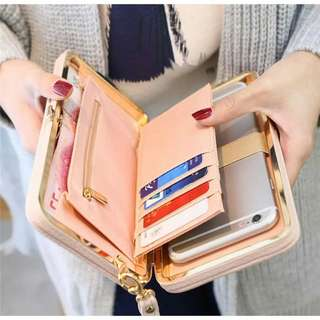 #834 Korean Women Clutch card holder long wallet
