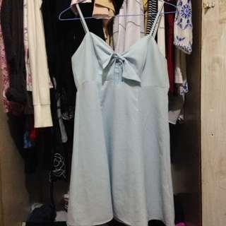 Brand New Pastel Blue Mini Dress