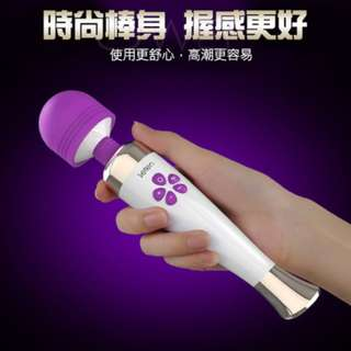 【1891批發】Leten‧7X10頻 USB磁吸充電式按摩-幻覺棒(紫色)(粉色)