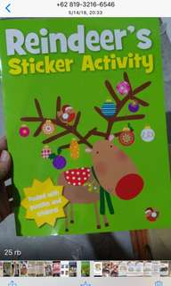 Buku bbw (reindeer's sticker book)